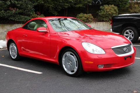 2004 Lexus SC 430 for sale at Rolfs Auto Sales in Summit NJ
