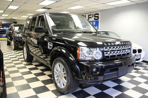 2011 Land Rover LR4 for sale at Rolfs Auto Sales in Summit NJ