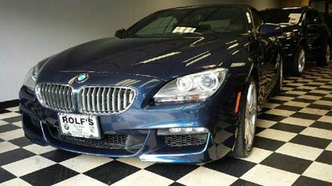 2012 BMW 6 Series for sale at Rolfs Auto Sales in Summit NJ