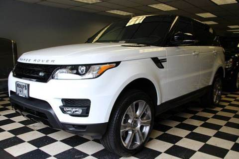 2015 Land Rover Range Rover Sport for sale at Rolfs Auto Sales in Summit NJ