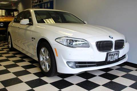 2012 BMW 5 Series for sale at Rolfs Auto Sales in Summit NJ