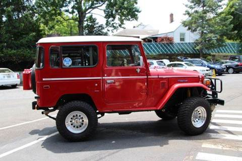 1979 Toyota FJ40 Cruiser for sale at Rolfs Auto Sales in Summit NJ