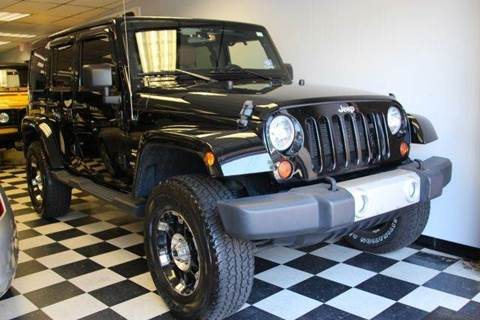 2012 Jeep Wrangler Unlimited for sale at Rolfs Auto Sales in Summit NJ
