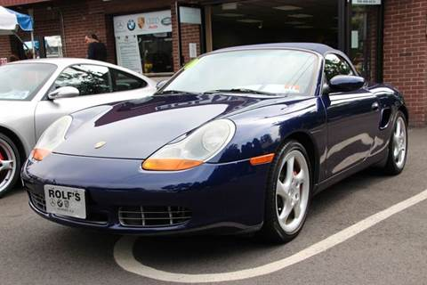 2001 Porsche Boxster for sale at Rolfs Auto Sales in Summit NJ