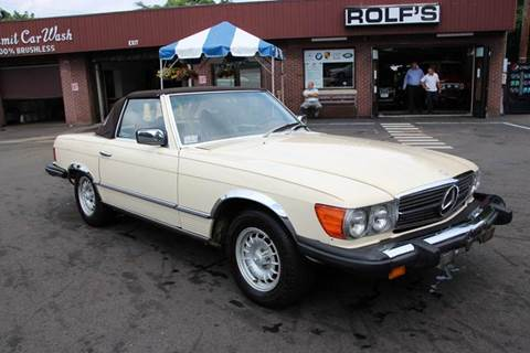 1977 Mercedes-Benz SL-Class for sale at Rolfs Auto Sales in Summit NJ