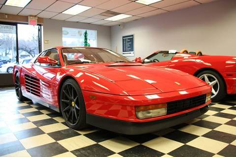 1991 Ferrari Testarossa for sale at Rolfs Auto Sales in Summit NJ