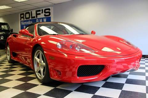 2005 Ferrari 360 Spider for sale at Rolfs Auto Sales in Summit NJ
