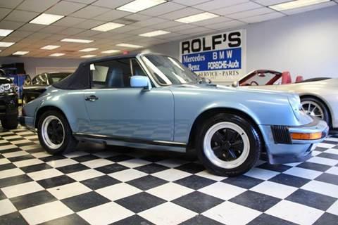1985 Porsche 911 Carrera for sale at Rolfs Auto Sales in Summit NJ
