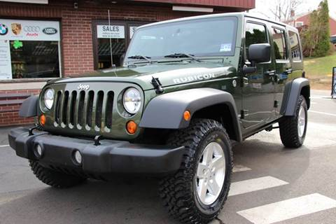 2007 Jeep Wrangler Unlimited for sale at Rolfs Auto Sales in Summit NJ