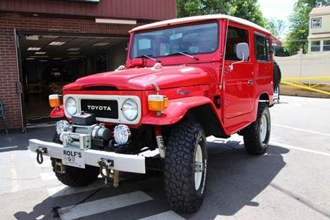 1979 Toyota FJ Cruiser for sale at Rolfs Auto Sales in Summit NJ