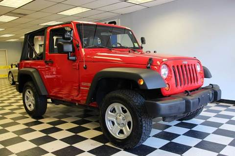 2010 Jeep Wrangler for sale at Rolfs Auto Sales in Summit NJ