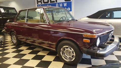 1975 BMW 2002 for sale at Rolfs Auto Sales in Summit NJ