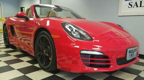 2014 Porsche Boxster for sale at Rolfs Auto Sales in Summit NJ