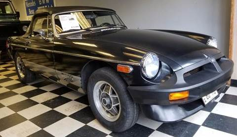 1980 MG MGB for sale at Rolfs Auto Sales in Summit NJ