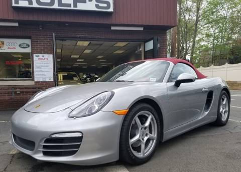 2013 Porsche Boxster for sale at Rolfs Auto Sales in Summit NJ