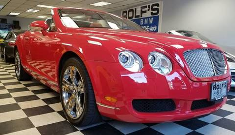 2007 Bentley Continental for sale at Rolfs Auto Sales in Summit NJ