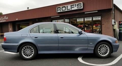 2003 BMW 5 Series for sale at Rolfs Auto Sales in Summit NJ