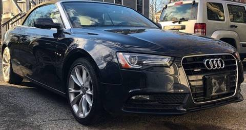2013 Audi A5 for sale at Rolfs Auto Sales in Summit NJ