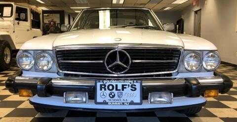 1989 Mercedes-Benz 560-Class for sale at Rolfs Auto Sales in Summit NJ