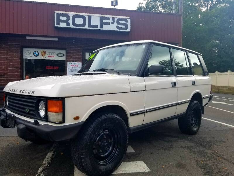 1994 Land Rover Range Rover Classic for sale at Rolfs Auto Sales in Summit NJ