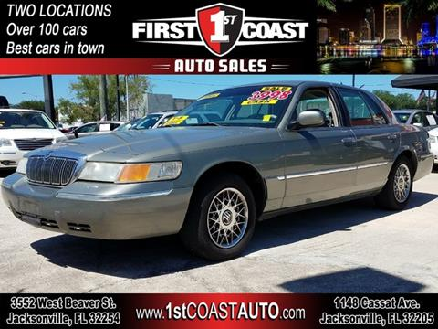 1998 Mercury Grand Marquis for sale in Jacksonville, FL