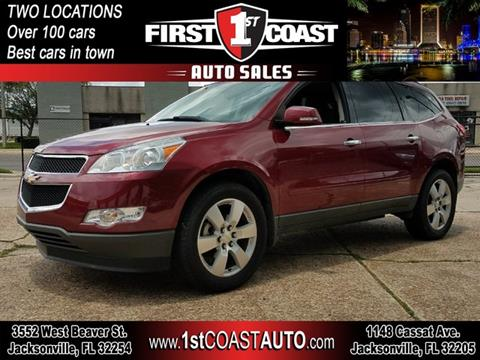2010 Chevrolet Traverse for sale at 1st Coast Auto -Cassat Avenue in Jacksonville FL