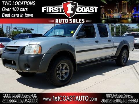 2002 Nissan Frontier for sale at 1st Coast Auto -Cassat Avenue in Jacksonville FL