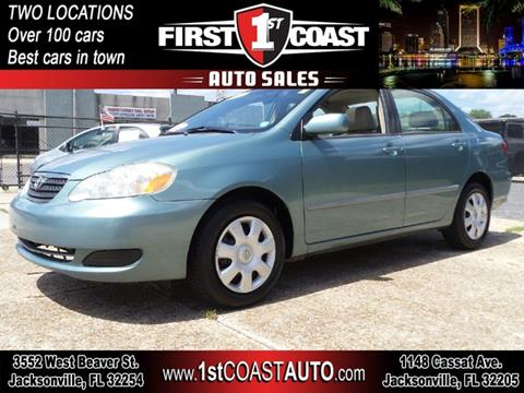 2005 Toyota Corolla for sale at 1st Coast Auto -Cassat Avenue in Jacksonville FL