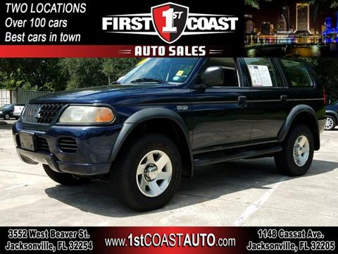 2004 Mitsubishi Montero Sport For Sale In Jacksonville, FL
