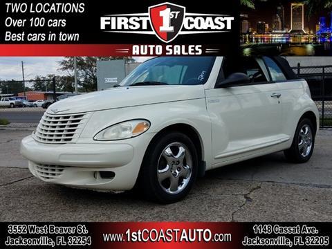 2005 Chrysler PT Cruiser for sale at 1st Coast Auto -Cassat Avenue in Jacksonville FL