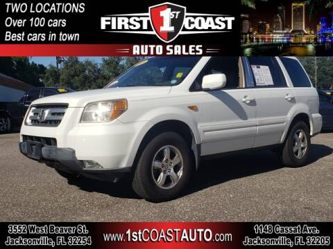 2008 Honda Pilot for sale at 1st Coast Auto -Cassat Avenue in Jacksonville FL