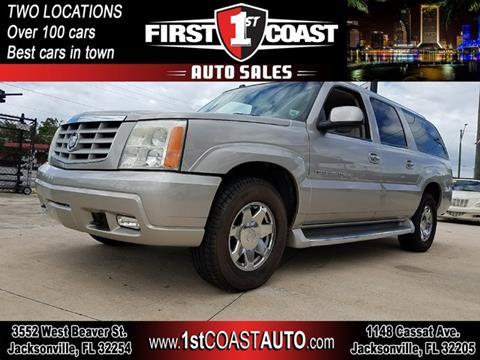 2004 Cadillac Escalade ESV for sale in Jacksonville, FL