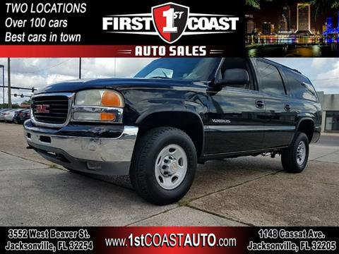2002 GMC Yukon XL for sale at 1st Coast Auto -Cassat Avenue in Jacksonville FL