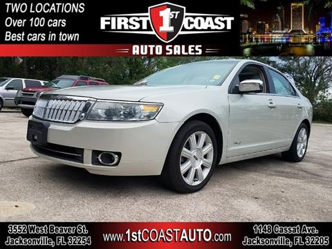 2008 Lincoln MKZ for sale in Jacksonville, FL