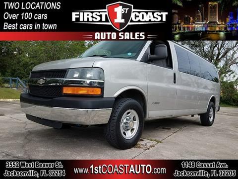 2005 Chevrolet Express Passenger For Sale In Jacksonville FL
