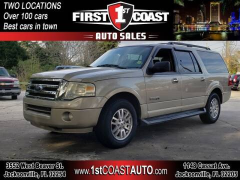 2008 Ford Expedition EL for sale at 1st Coast Auto -Cassat Avenue in Jacksonville FL