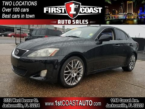 2006 Lexus IS 250 for sale at 1st Coast Auto -Cassat Avenue in Jacksonville FL