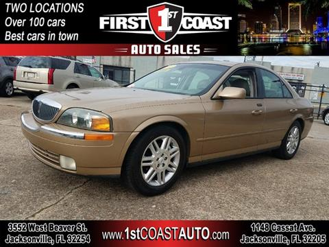 2005 Lincoln LS for sale at 1st Coast Auto -Cassat Avenue in Jacksonville FL