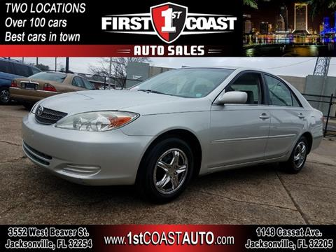 2003 Toyota Camry for sale at 1st Coast Auto -Cassat Avenue in Jacksonville FL