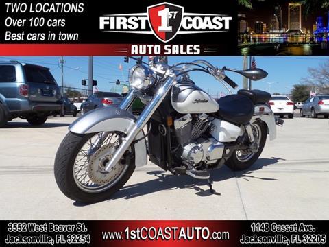 2005 Honda Shadow Aero for sale at 1st Coast Auto -Cassat Avenue in Jacksonville FL