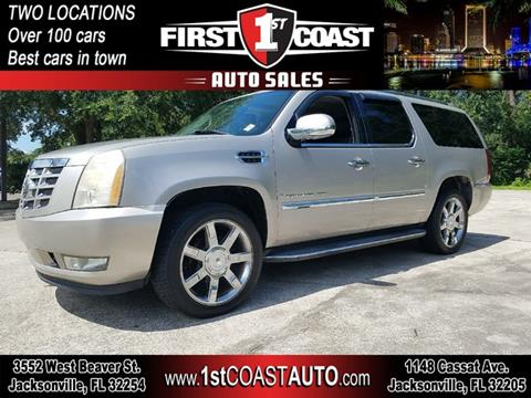 2007 Cadillac Escalade ESV for sale at 1st Coast Auto -Cassat Avenue in Jacksonville FL
