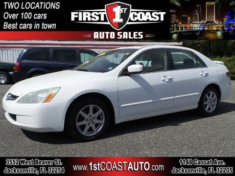 2004 Honda Accord For Sale In Jacksonville Fl