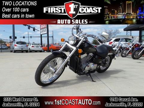 2013 Honda Shadow Spirit for sale at 1st Coast Auto -Cassat Avenue in Jacksonville FL