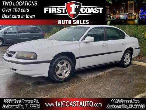 2000 Chevrolet Impala for sale in Jacksonville, FL