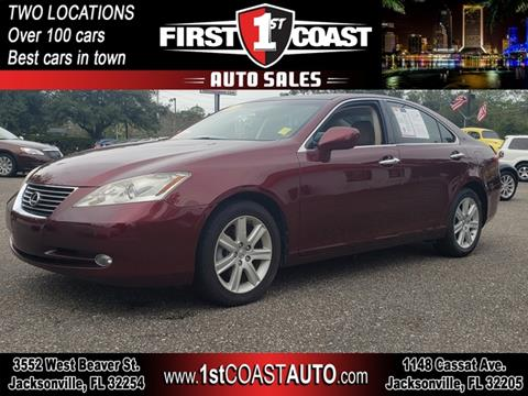 2007 Lexus ES 350 for sale at 1st Coast Auto -Cassat Avenue in Jacksonville FL
