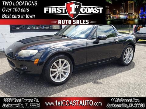 2008 Mazda MX-5 Miata for sale at 1st Coast Auto -Cassat Avenue in Jacksonville FL