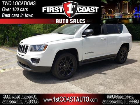 2014 Jeep Compass for sale at 1st Coast Auto -Cassat Avenue in Jacksonville FL