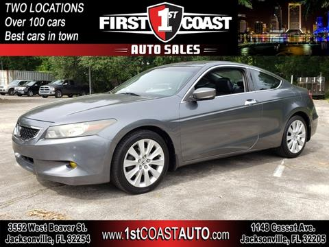 2008 Honda Accord for sale at 1st Coast Auto -Cassat Avenue in Jacksonville FL