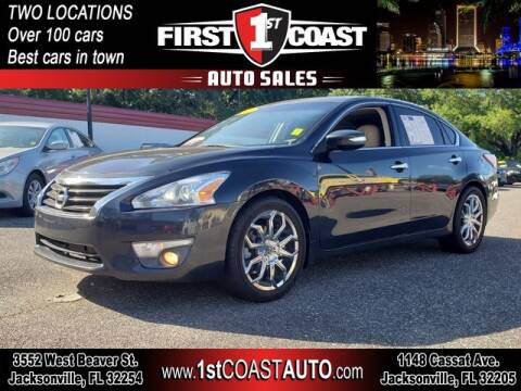 2013 Nissan Altima for sale at 1st Coast Auto -Cassat Avenue in Jacksonville FL
