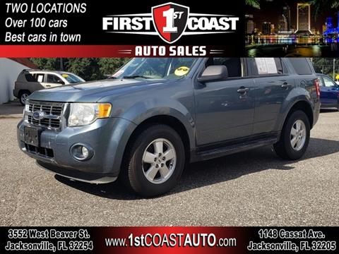 2010 Ford Escape for sale at 1st Coast Auto -Cassat Avenue in Jacksonville FL